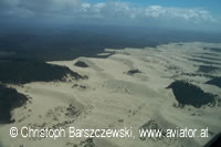 aerial pics: Sand dunes in Oregon