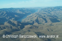 aerial photo: Snake River in Hells Canyon,  zwischen Idaho Oregon und Washington
