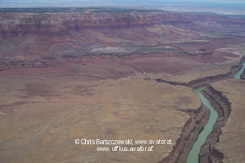aerial pics: Marble Canyon -Ausläufer des Grand Canyon mit Blick auf Airport